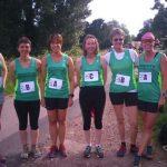 Ladies teams in Woodland Relays