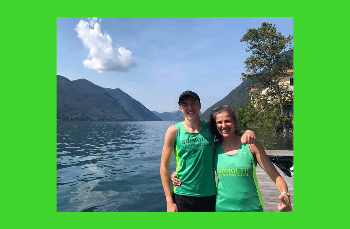Naomi and Toby at Lake Lugano, Italy