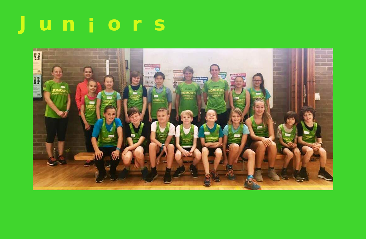 The mighty green Junior running club Is back.