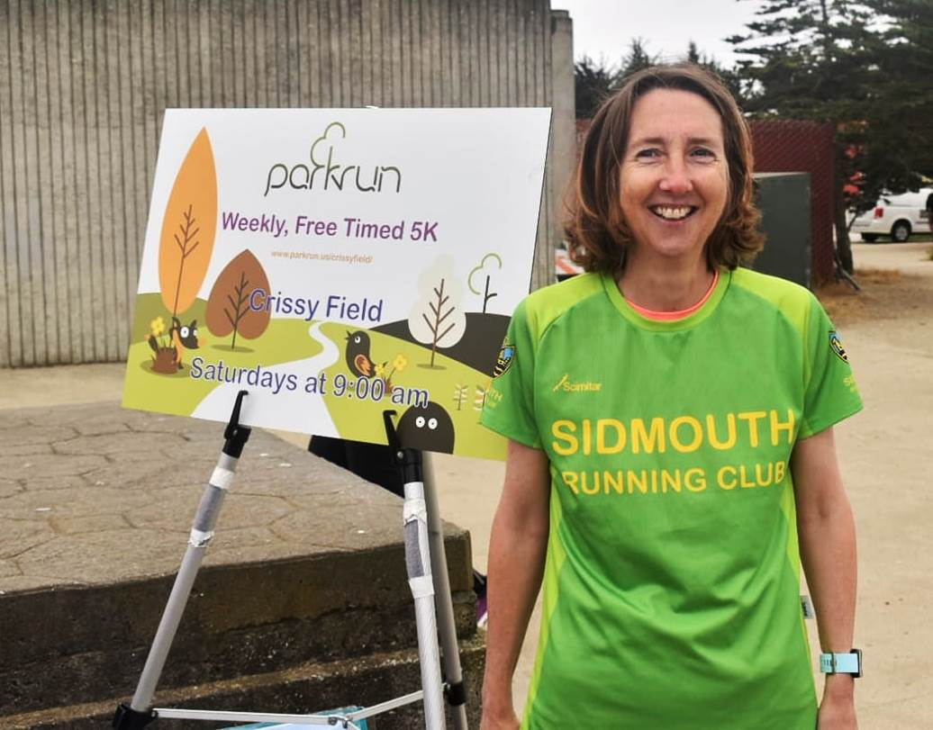 Sue Collman San Francisco Parkrun