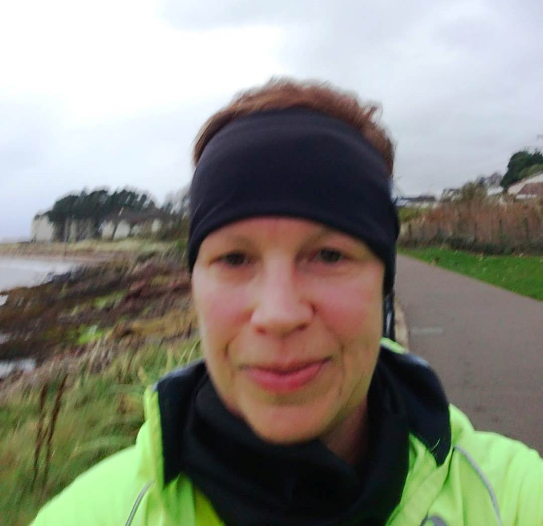 Helen,  Largs seafront 6 mile