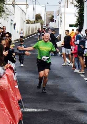 Tim Swarbrick at Haria 19.5km race, Lanzarote