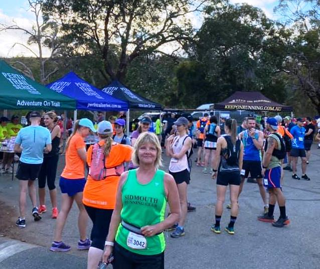 Lesmurdie Falls Trail Run, Perth, Australia